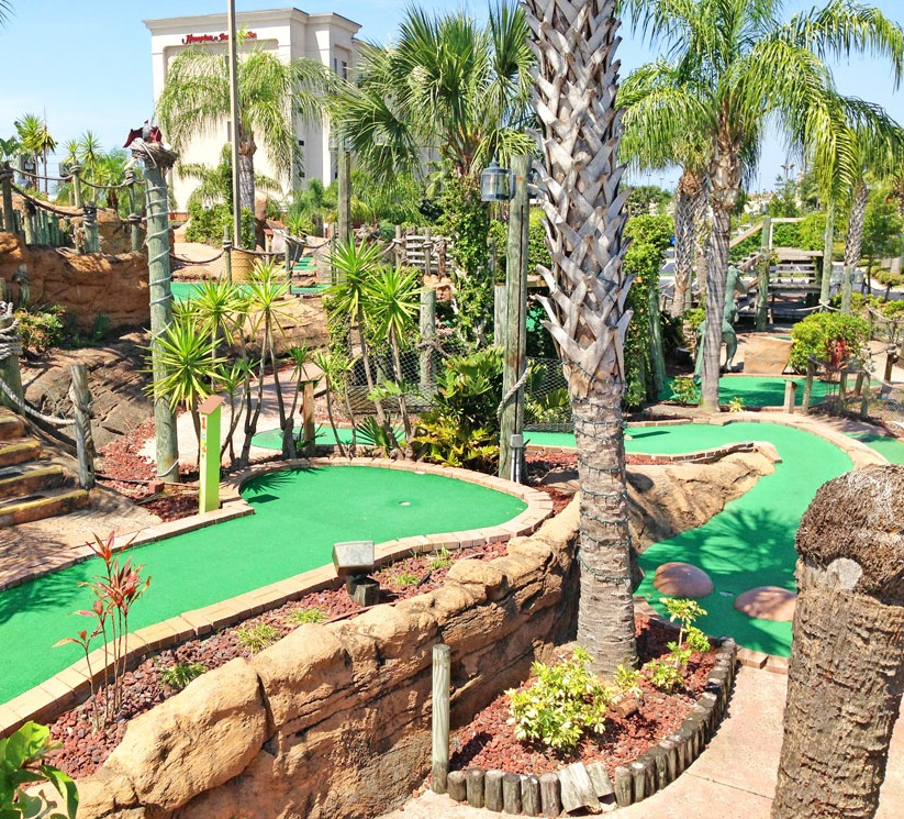 Volcano Island Mini Golf Orlando Florida